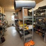 šķeldas ražotāja Reinpaul OÜ remonta un apkopes bāze Väike-Maarja ciemā